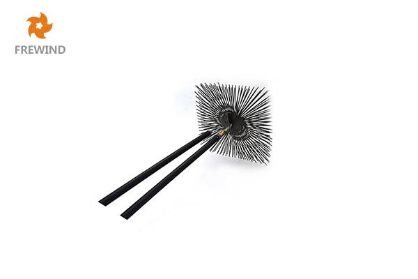 CHIMNEY BRUSH FLAT STEEL WIRE SQUARE
